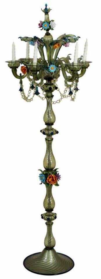 Colored Paper Floor Lamps : Murano glass archives antiques of pasadena